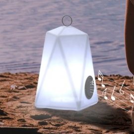 faralay PLAY LED rgb con cassa audio 1x5W bluetooth