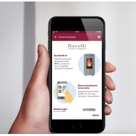 Kit Wifi- Bluetooth per gestione stufa