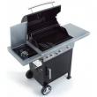 BarbecueMistergusto a gas 3 bruciatori e piano cottura laterale