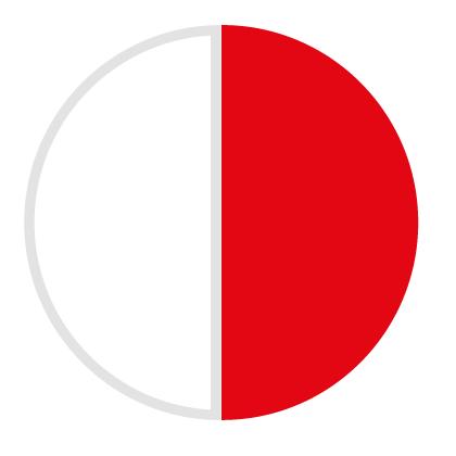 Polimero bianco/rosso 212