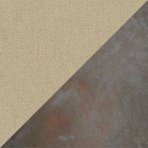 Tessuto Taupe - Struttura Ferro Antico