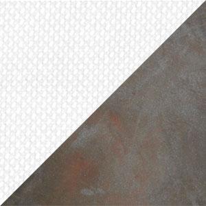 Tessuto Bianco - Struttura Ferro Antico 22