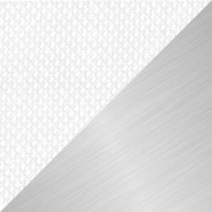 Tessuto Bianco | Struttura Alluminio