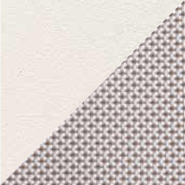 Struttura Bianco Opaco 23 / Tessuto Ghiaccio 300-42